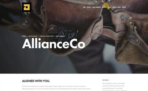 ALLIANCE CO